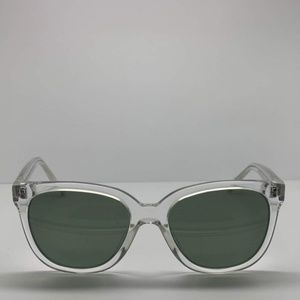 Warby Parker Clear Oval Sunglasses